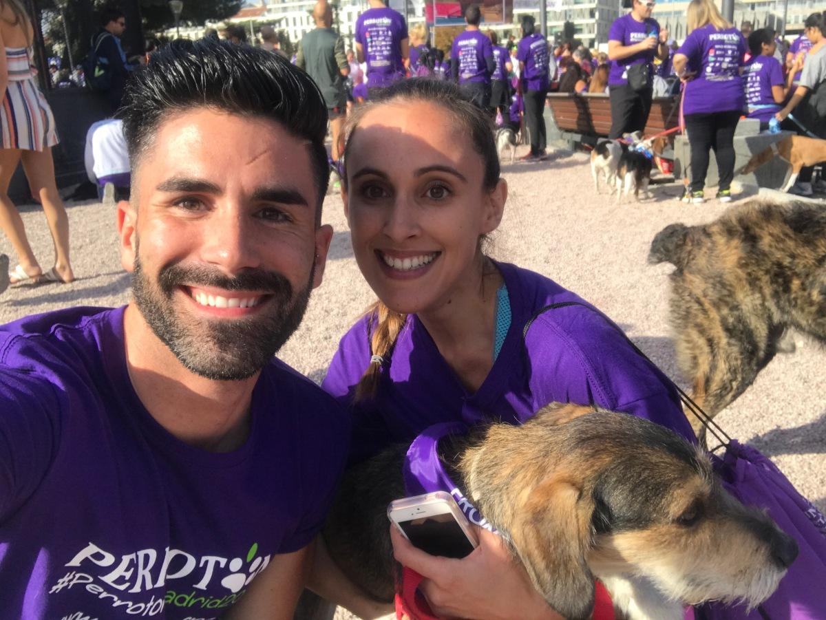 4 kilómetros marcados por la solidaridad, educación y adopción de animales de compañía
