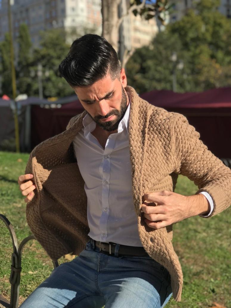 El cárdigan perfecto para este invierno