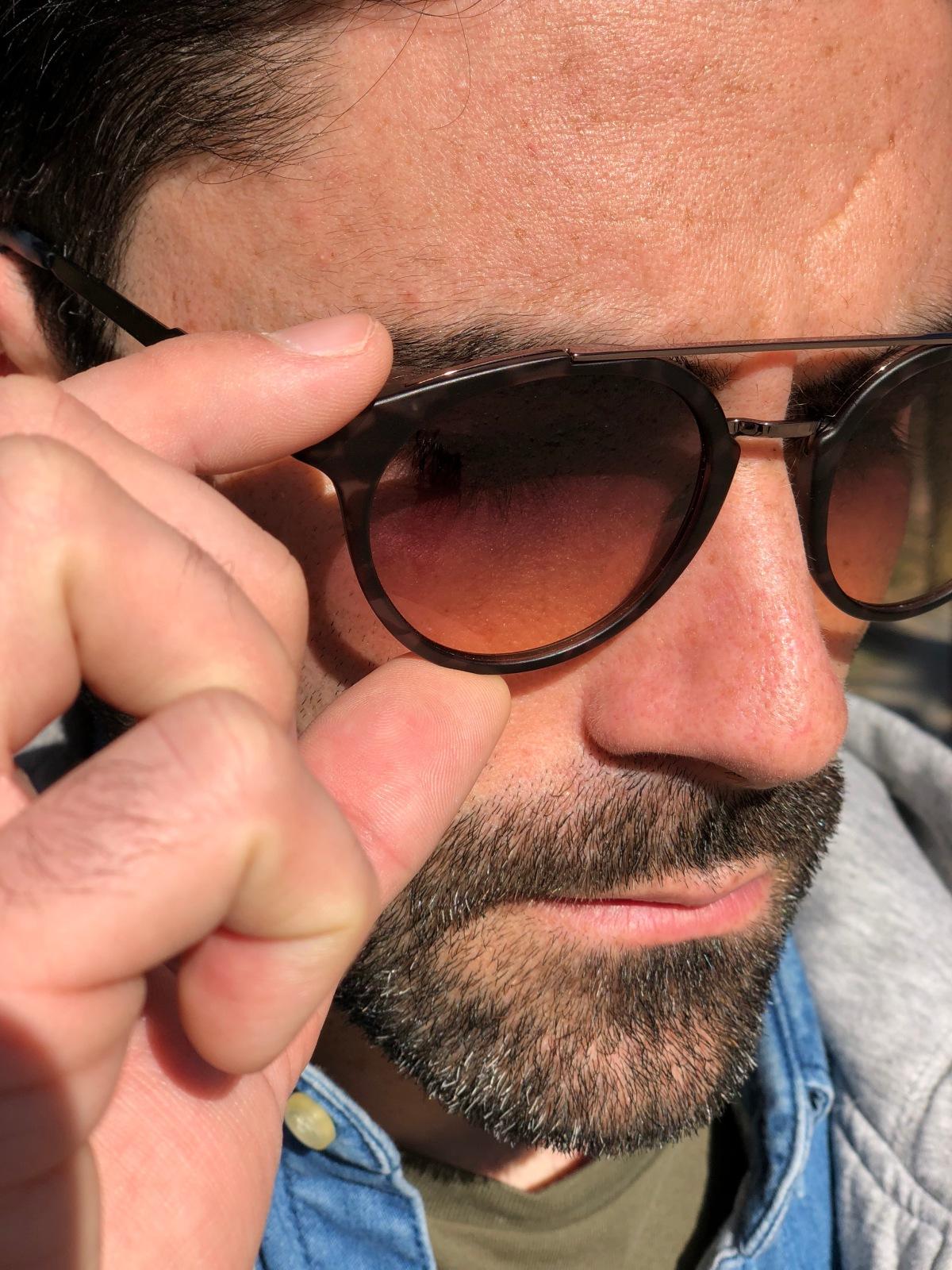 Sale el sol y por fin puedo estrenar mis nuevas gafas
