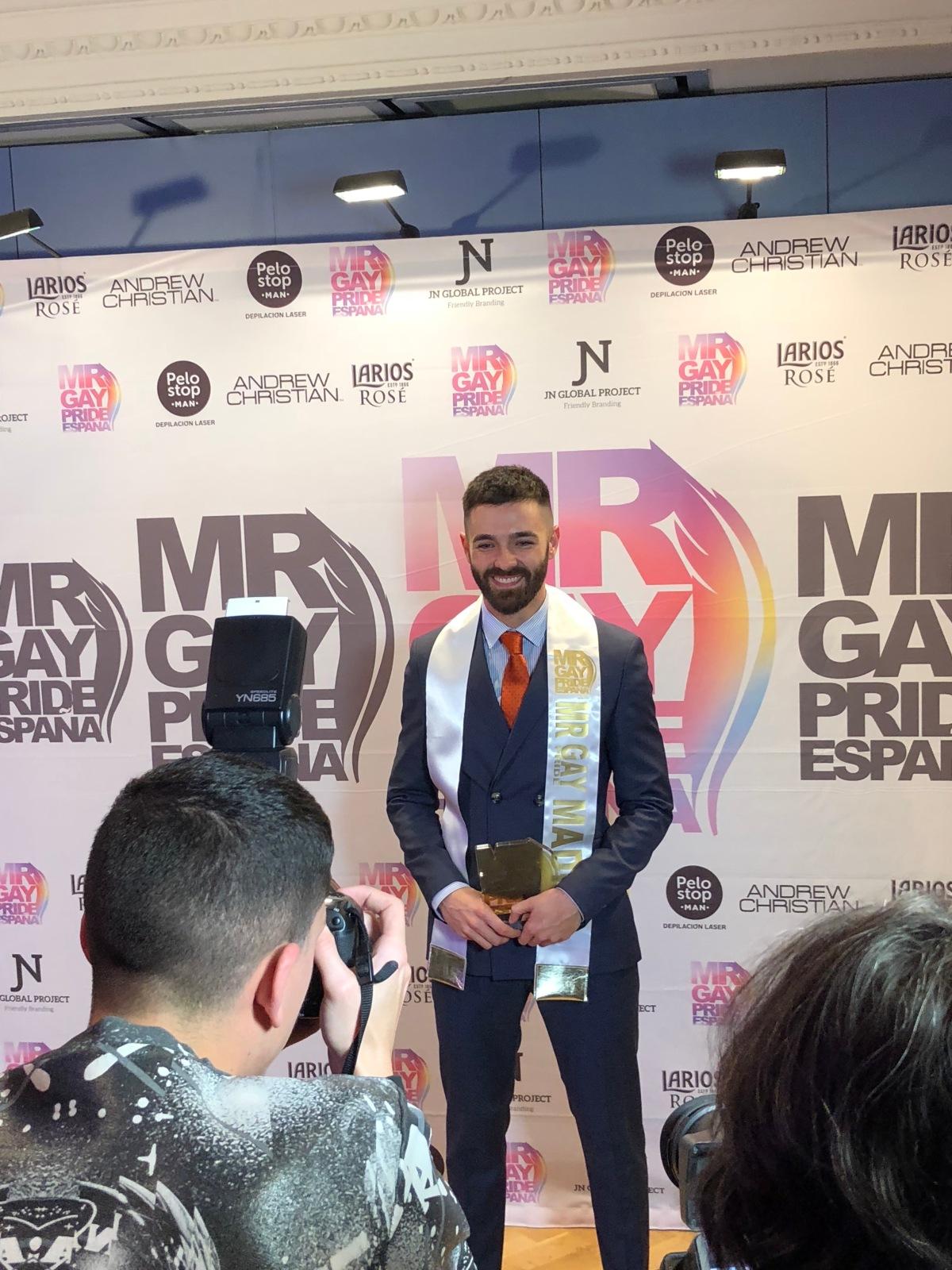 Madrid ya tiene su representante para #MRGAYPRIDE2018