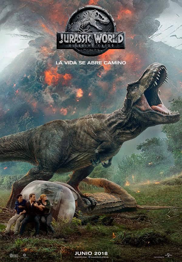 Jurassic World: El reino caído. La mejor erupción emocional de Bayona.