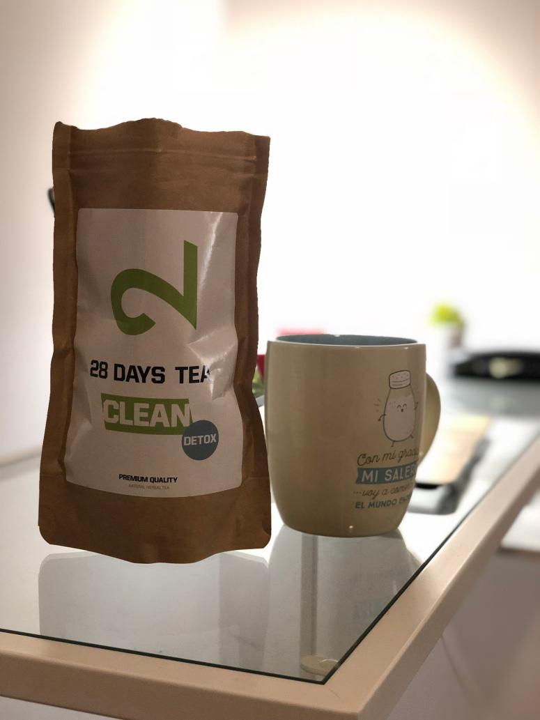 """""""28 day detox tea"""" el complemento perfecto para abdomen y mentes exigentes"""