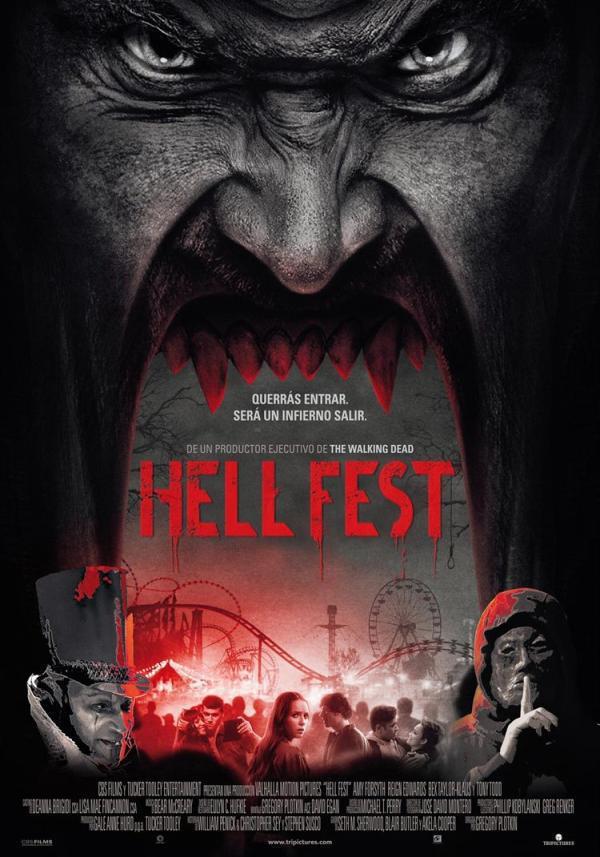 """""""Hell Fest"""" El parque de atracciones que Gregory Plotking no sabe exprimir"""