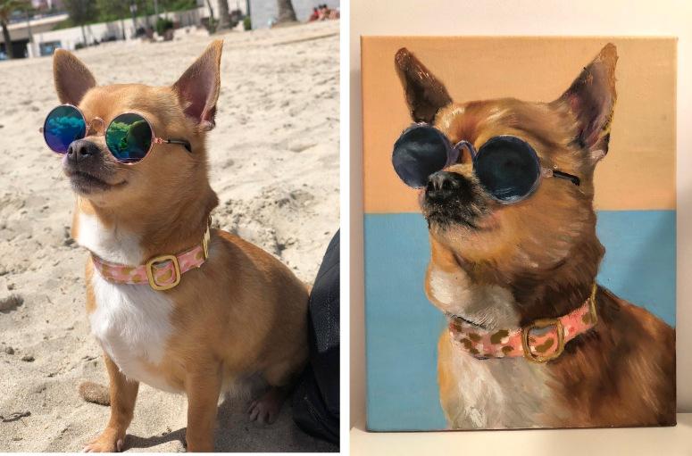 ¡SORTEO! Gana un retrato para tu mascota con #amoranimalista