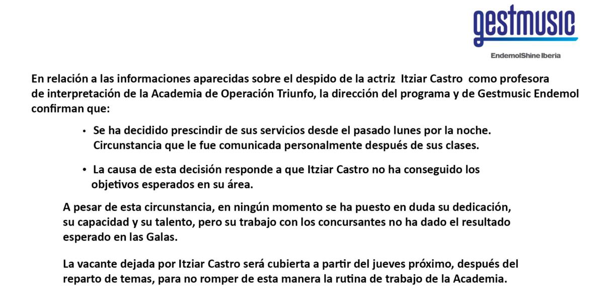 OT 2018 intenta recuperar la emoción de los concursantes, sustituyendo a Itziar Castro por los Javis.