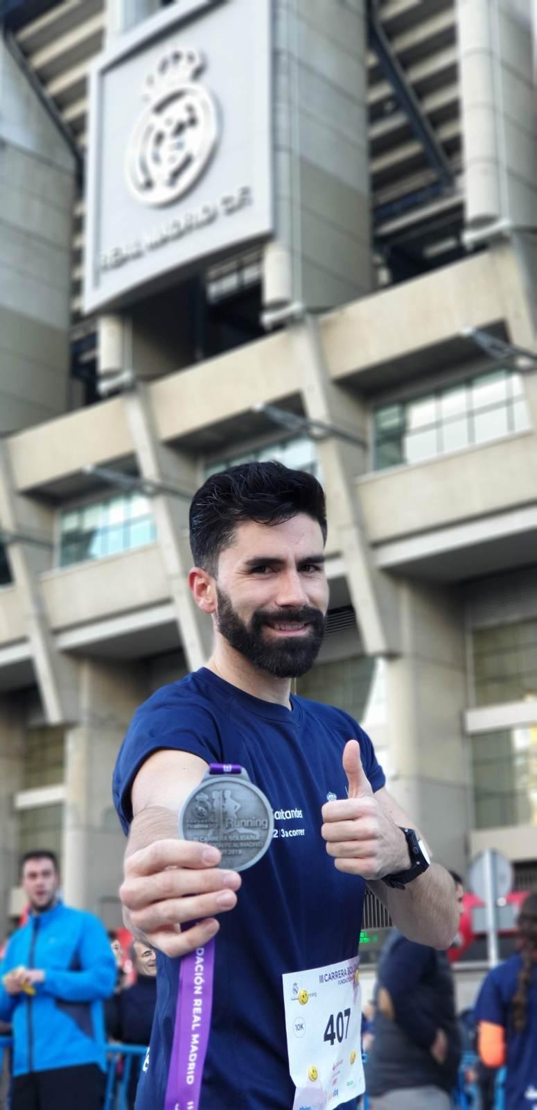 III Carrera solidaria de la Fundación Del Real Madrid