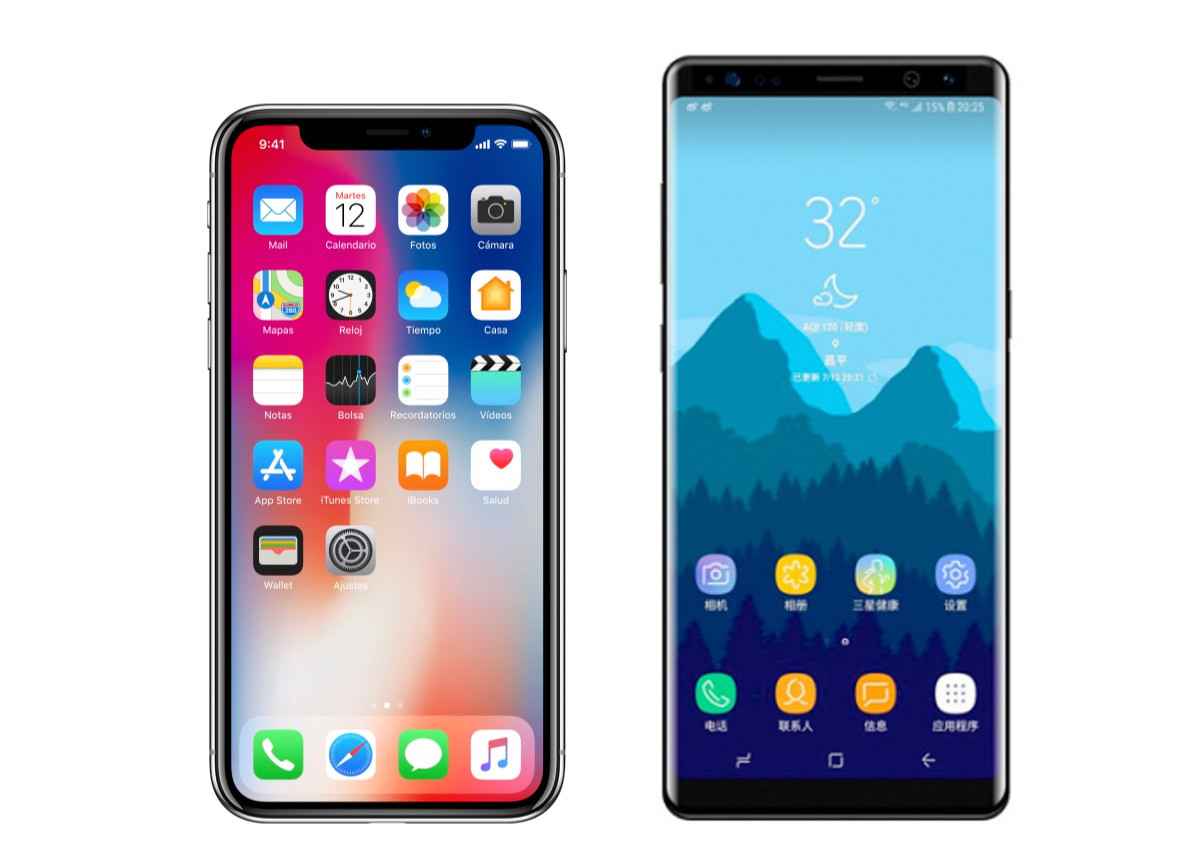 ¿Pasar de un iPhone X al Galaxy Note 9?