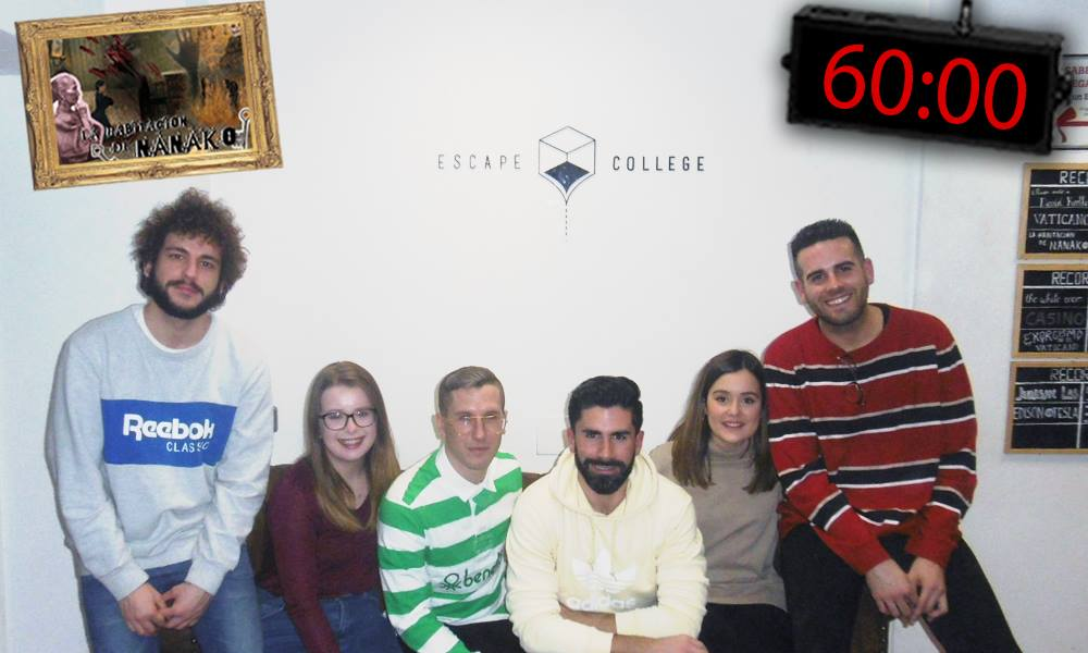 Mi primer Escape room, y... ¡de terror!