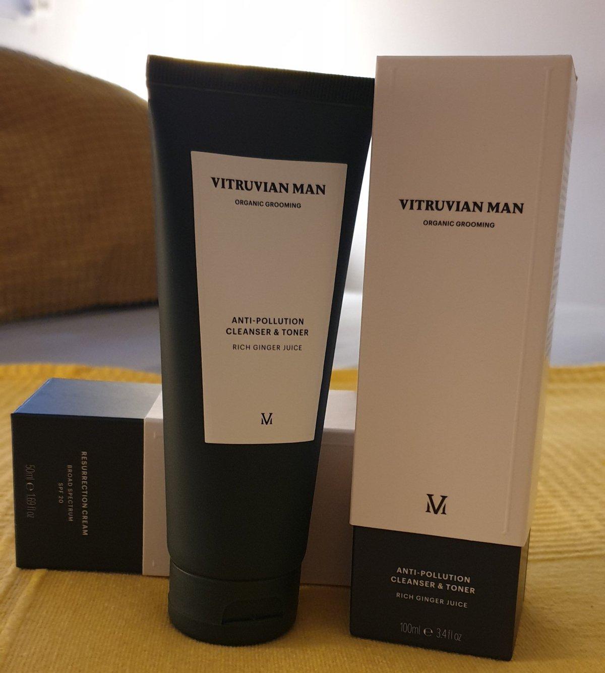 """""""Vitruviam Man"""" El pack perfecto para reactivar la piel del hombre"""