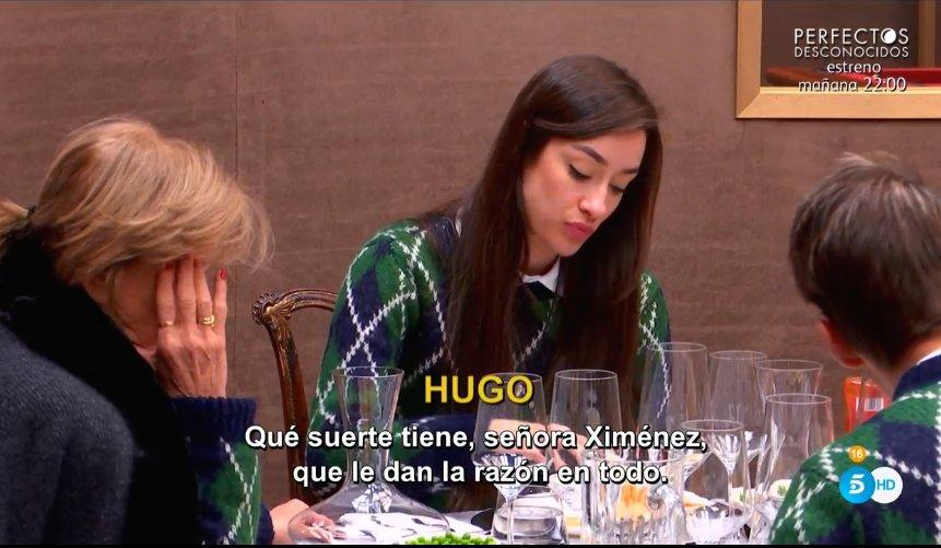 Hugo señala a Adara como la próxima expulsada ¿por sentirse traicionado o porque la hace responsable de su expulsión?